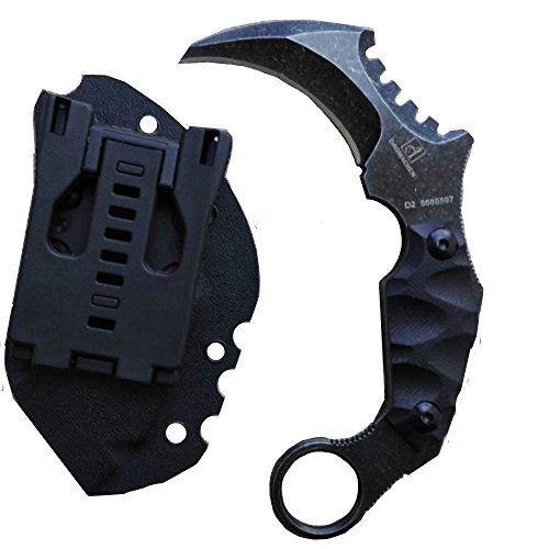 DAOMACHEN Claws blades Straight Claw Tactical Handle Outdoor Hunting Knife as a by DAOMACHEN