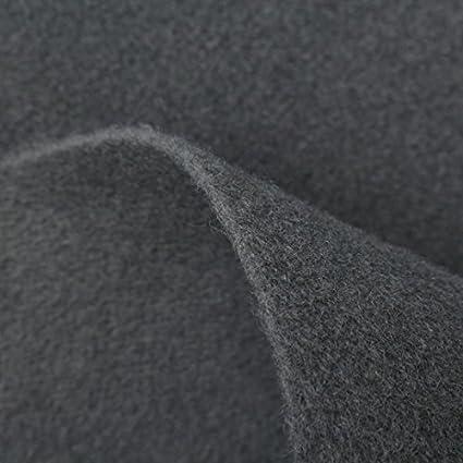 DARK GREY THICK WALL VAN CAR CAMPER BOAT BOOT ACOUSTIC VELOUR LINING TRUNKLINER CARPET