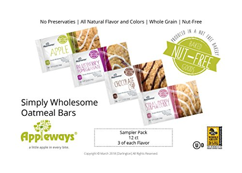 - Simply Wholesome Oatmeal Bar Combo Pack