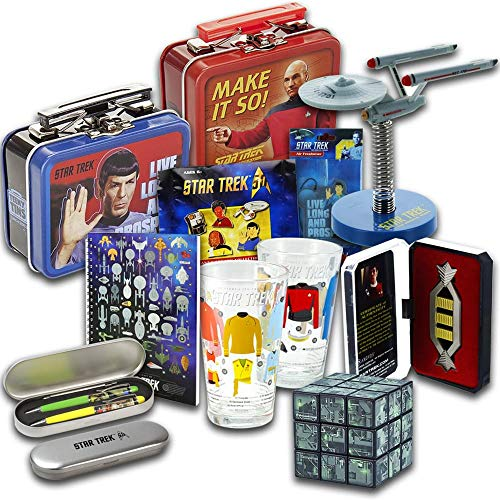 Toynk Star Trek Collectibles | Collectors LookSee Box | Pint Glasses | Puzzle | Cube