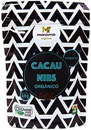 Nibs de Cacau Orgânico Saudável Monama 50g