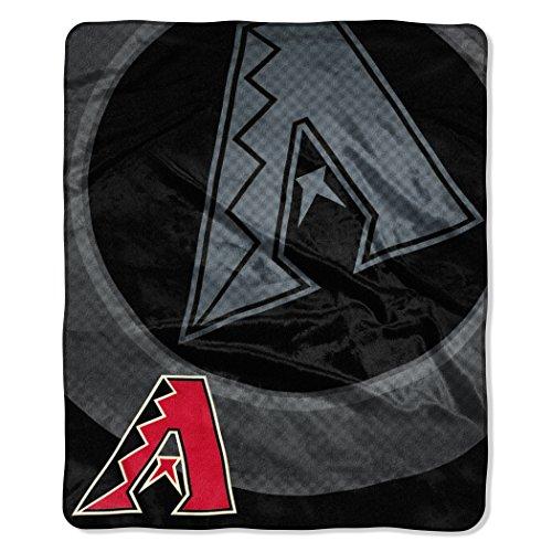 MLB Arizona Diamondbacks Retro Plush Raschel Throw, 50