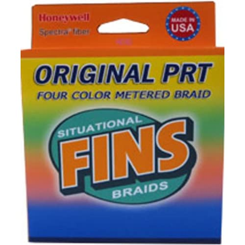 Image of Braided Line Fins Spectra 1200-Yards Multi Colored Metered Fishing Line