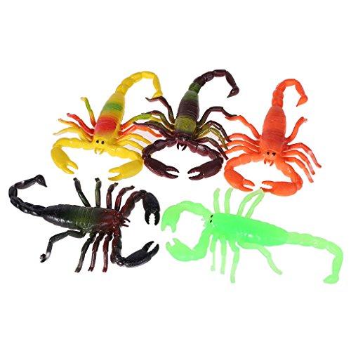 YDZN 1pcs TPR Plastic Simulation Scorpion Animal Model