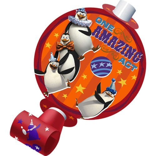 Madagascar Party Supplies (Madagascar 3 Blowouts (8) Party Accessory by)