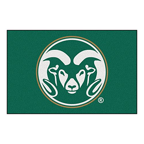 FANMATS NCAA Colorado State University Rams Nylon Face Starter Rug Colorado State University Starter