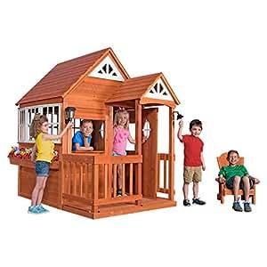 Amazon.com: Backyard Discovery 1602311 Deluxe Cedar ...
