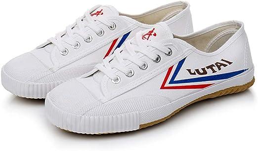 SEHUNN Unisex Zapatos Clásicos De Lona, Zapatos Chinos De Kung Fu ...