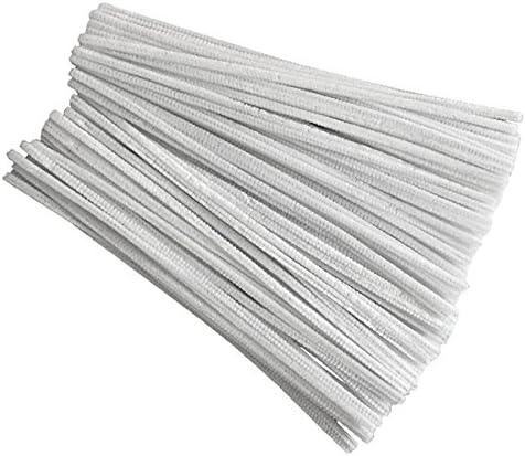 TTBD 100 Pcs 30Cm Cr/éAtion de Cure-Pipes Blanc