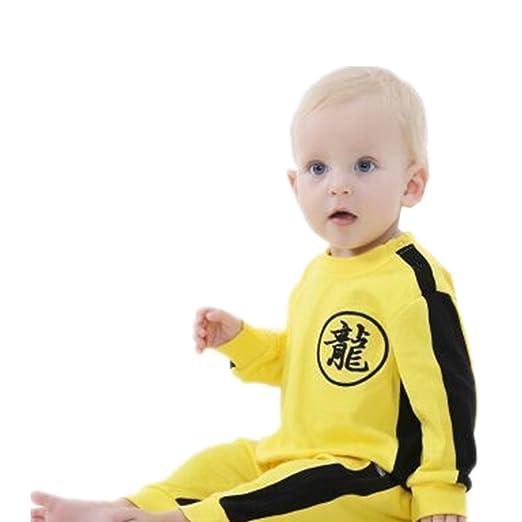 Amazon Com Uni Clothing Uni Bruce Lee Baby Toddler Baby Jumpsuit
