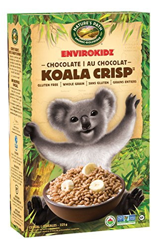 Envirokidz Organic Gluten-Free Cereal, Chocolate Koala Crisp, 11.5 Ounce Box (Pack of 6)