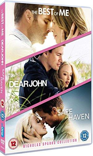 Dear John/Safe Haven/The Best Of Me (3 Dvd) [Edizione: Regno Unito] [Import anglais]