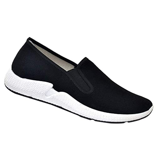 c6123ad6cddb6 Tenthree Chaussures Kung Fu Arts Martiaux Tai Chi Homme - Chinoises  Classique Baskets Conduite Espadrilles