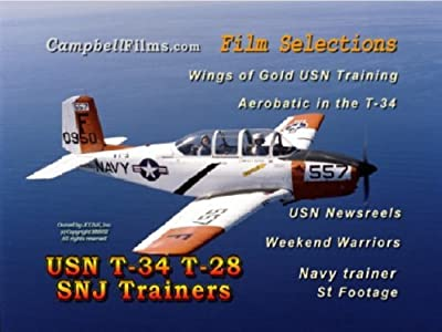 USN T-34 T-28 SNJ Navy airplane TRAINERS Naval Base Aircraft Carriers old films DVD by T-34