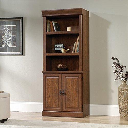 Sauder Orchard Hills 3 Shelf Bookcase in Milled Cherry by Sauder