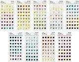 世界の色 色見本帖 シール 全360色セット
