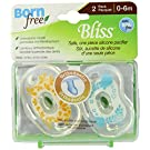 Born Free BPA-Free Bliss Orthodontic Pacifier, Neutral, 0-6M