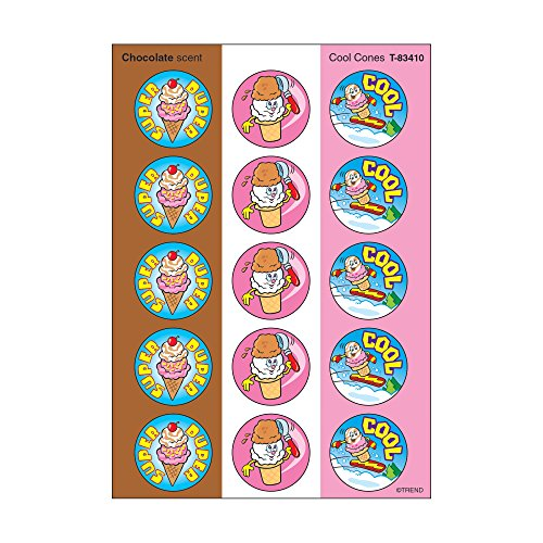 Trend Enterprises Cool Cones/Chocolate Stinky Stickers (60 Piece)