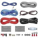 car amplifier wiring kits amazon com rh amazon com car audio install kit car radio wiring diagram