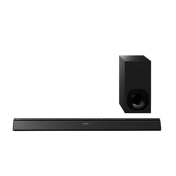 Sony HT-CT380B - Barra de sonido de 300 W (2.1 canales, subwoofer inalambrico, para TV de hasta 46
