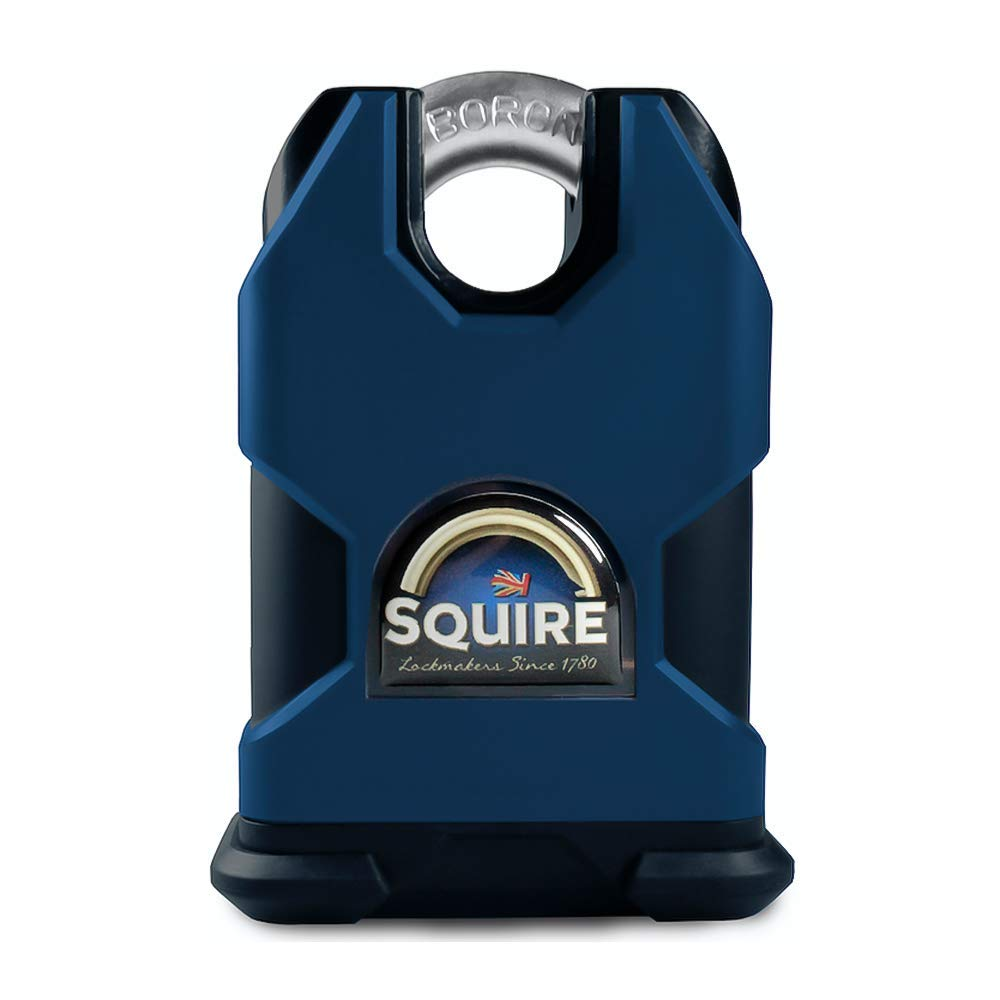 Henry Squire SS50CS Stronghold 50mm Solid Steel Padlock Close Shackle