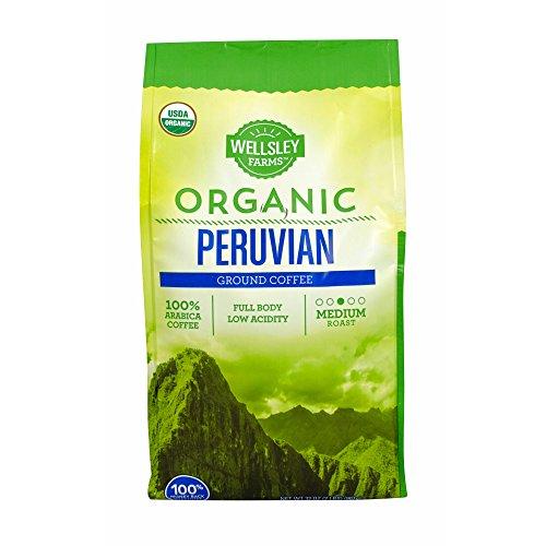 Wellsley Farms Organic Peruvian Ground Coffee, 32 oz.