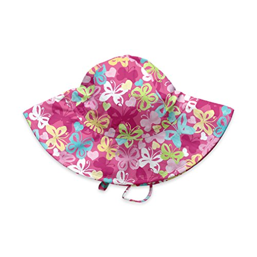 by green sprouts Baby /& Toddler Brim Sun Protection Hat neck /& eyes All-day UPF 50+ sun protection for head i play