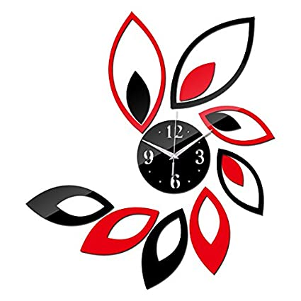 Chair-home 2017 New 3D Wall Clock Watch Clocks Stickers Reloj De Pared Vintage Large