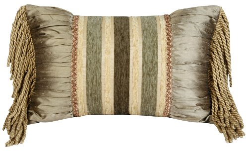 Jennifer Taylor Contessa Collection Pillow, 13-Inch by 20-Inch