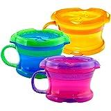 美国 Munchkin 满趣健 豪华防漏零食杯 零食罐(颜色随机)MK15528