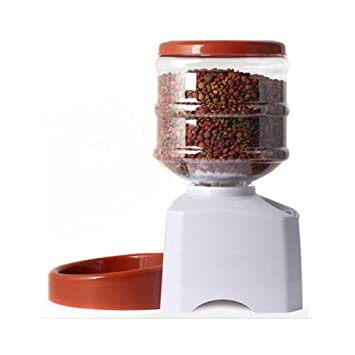 Alimentador automático de mascotas automático para gatos y perros, Temporizador programable, 5.5L de