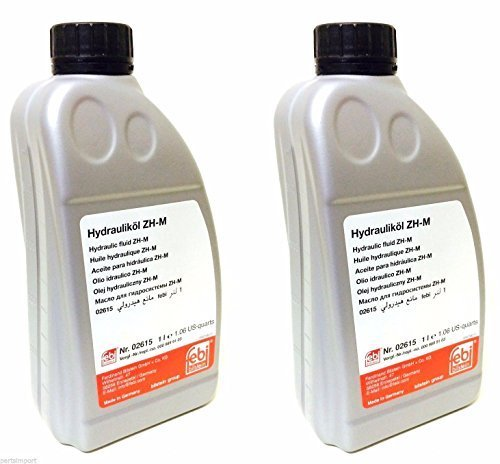Mercedes 2Lt Hydraulic Fluid for Suspension and Convertible ()