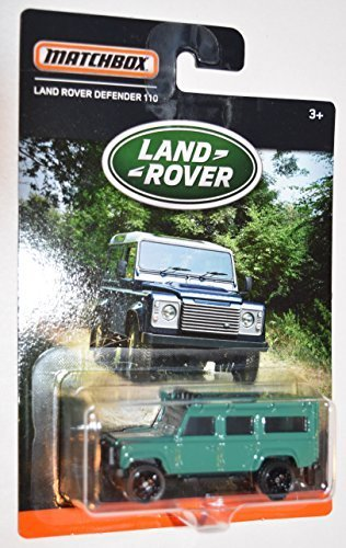MATCHBOX LAND ROVER SERIES TEAL LAND ROVER DEFENDER 110