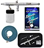 Master Airbrush Brand Model S62 Multi-Purpose Precision Dual-Action Siphon F.