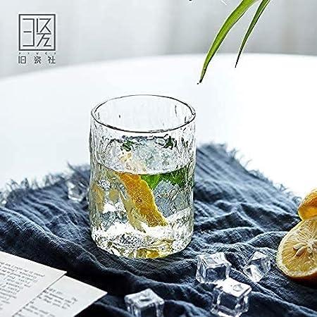 SCRTWZX Copas de Vino Crystal Europea Vasos de Cristal Creativo de la Taza del Vino Whisky Taza de Leche de Taza de la Bebida, Whisky Copa 300ml / Precio por Unidad (Color : Ad430ml2)