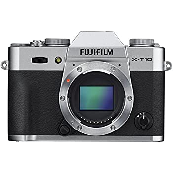 Fujifilm X-T10 Body Silver Mirrorless Digital Camera
