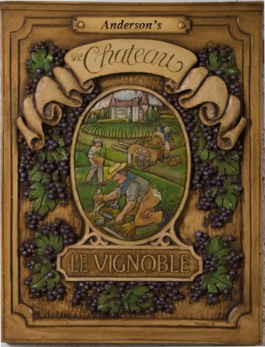 French Chateau Personalized Wall Plaque
