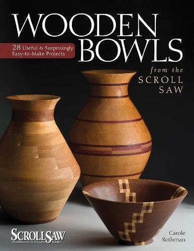 Wooden Bowls from the Scroll Saw