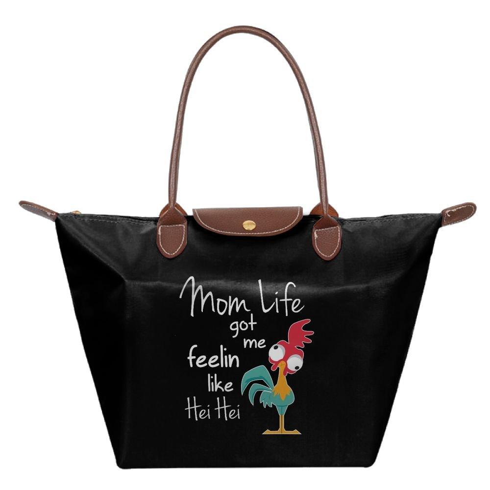 Adwelirhfwer Unisex Mom Life Got Me Feelin Like Baby Bag Black