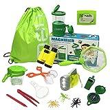 Jollysweets Outdoor Exploration Kit 16 Pcs Set, Backpack, Butterfly Net Catcher, Bug Catcher, Bug...