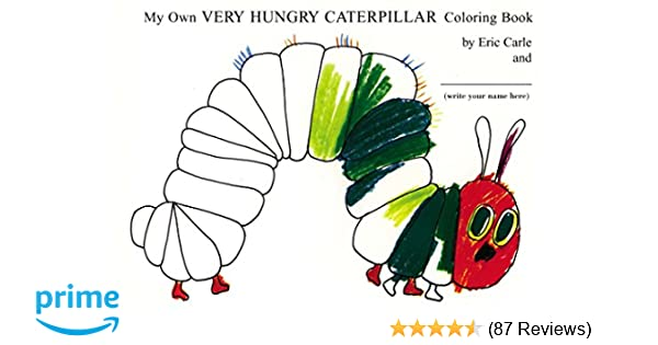 CATERPILLAR COLOUR IN YOUR OWN PERSONALISED T-SHIRT *FUN ACTIVITY GIFT /& NAMED*