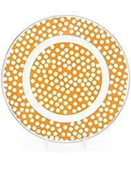 amazon com kolorful kitchen home decor luncheon plates