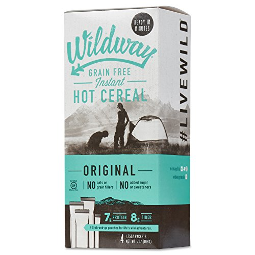 Wildway Grain-free Hot Cereal Twin Pack (Original) (Certified gluten-free, Paleo, Vegan, Non-GMO)