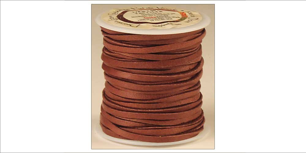Tandy Leather Deerskin Lace 1/8'' x 50 ft Acorn 5067-02
