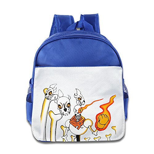 Discovery Wild Little Kid Backpack Bag, Undertale Papyrus - RoyalBlue