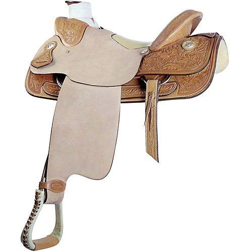 Billy Cook Saddlery Wade Floral Roper Saddle 16In