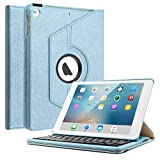 Best Keyboard With Stand Covers - Keyboard Case Compatible iPad 9.7 2018(6th Gen)/iPad 2017/iPad Review