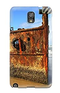 Perfect Abandoned Rusty Boat Case Cover Skin For Galaxy Note 3 Phone Case