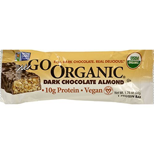 Nugo Dark Chocolate Almond Bar, 1.7-Ounce ( Value Bulk Multi-pack) by NuGo