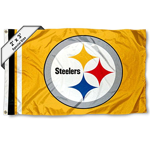 WinCraft Pittsburgh Steelers 2x3 Feet Flag